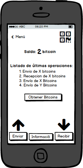 Como luce por dentro la billetera Blockchain -1