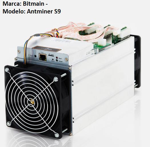 ASIC Marca Bitmain Antiminer s9
