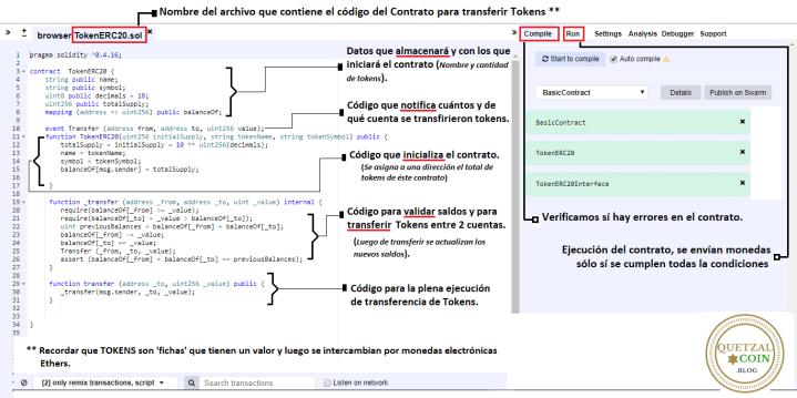 Contrato inteligente en Ethereum